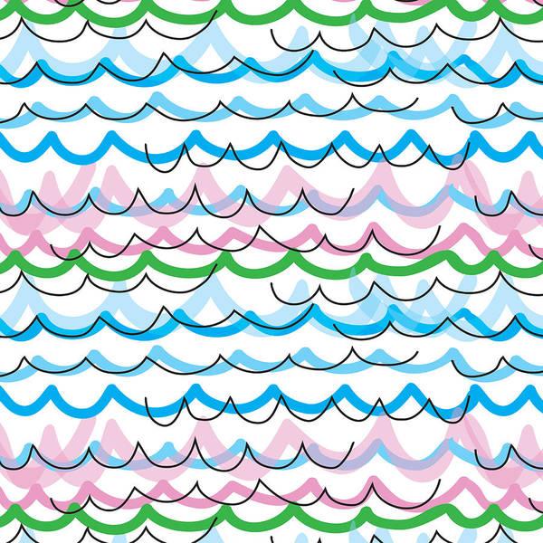 Summer Seaside  Art Print