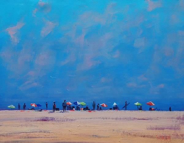 Sand Dune Painting - Summer Sky by Graham Gercken