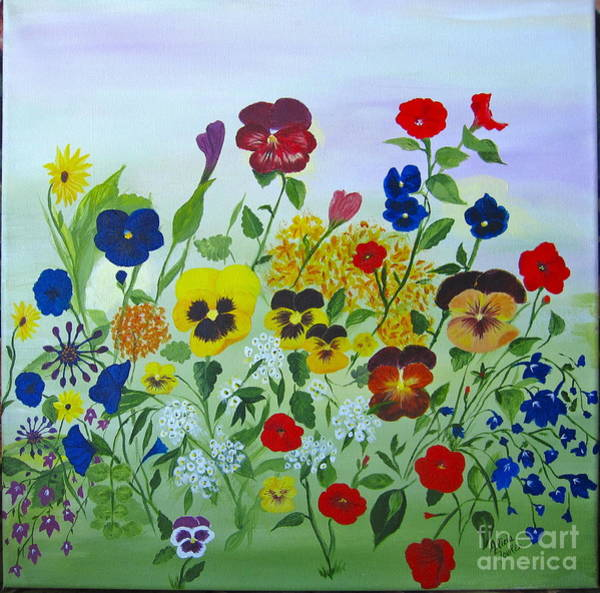 Painting - Summer Smiles by Alicia Fowler