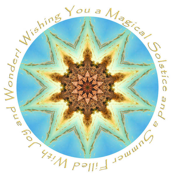 Photograph - Summer Solstice Mandala by Beth Sawickie
