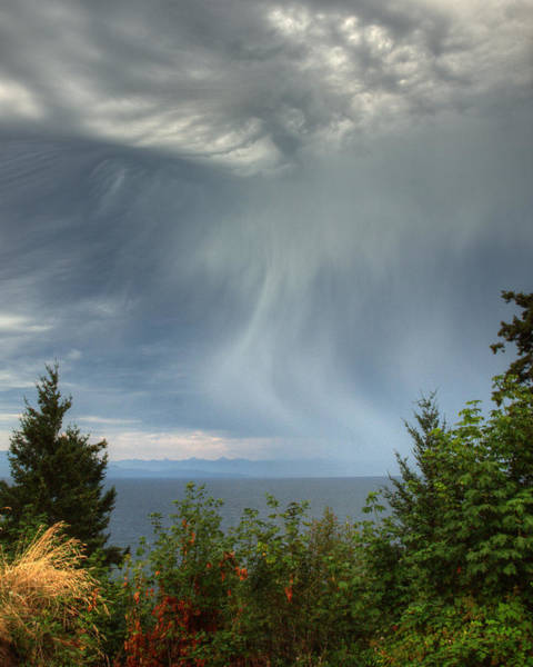 Photograph - Summer Squall by Randy Hall