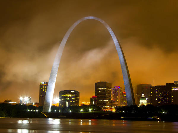 Photograph - Summer Storm Over St Louis by Garry McMichael