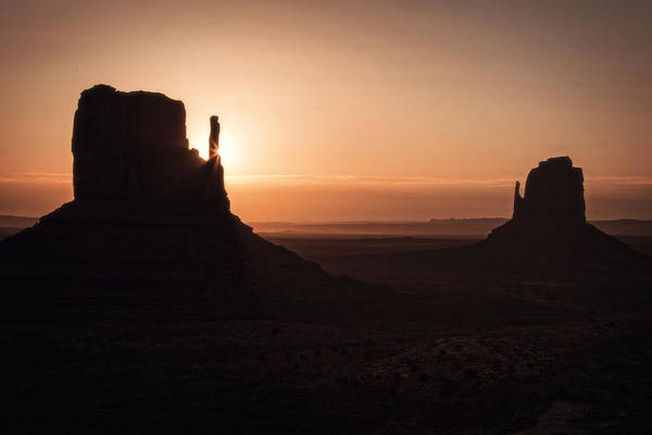 Monument Valley Navajo Tribal Park Wall Art - Photograph - Summer Sunrise Monument Valley by Garry Gay