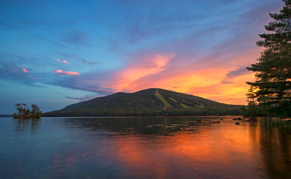 Pleasant Photograph - Summer Sunset At Shawnee Peak by Darylann Leonard Photography
