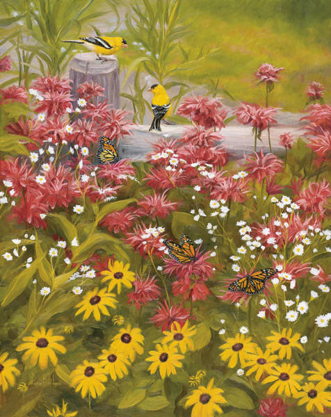 Wall Art - Painting - Summer Symphony by Lucie Bilodeau