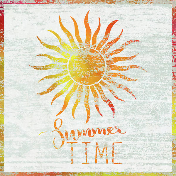Sunshine Wall Art - Painting - Summer Time by Cora Niele