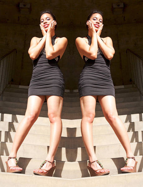 Photograph - Summer Twins At Bent Stairs 2014 by James Warren