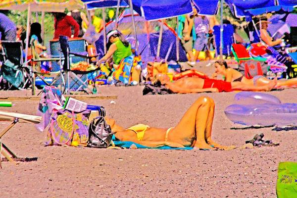 Photograph - Summer Vacation by Joseph Coulombe