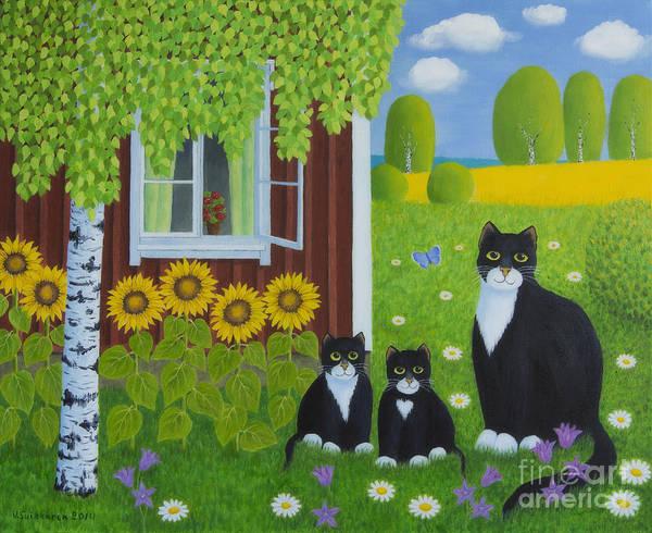 Painterly Painting - Summer by Veikko Suikkanen