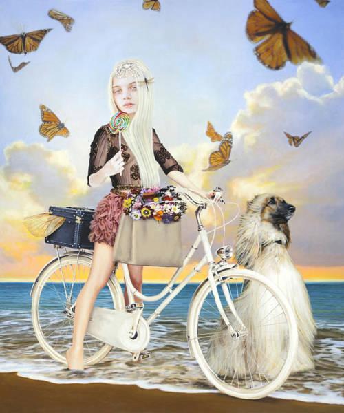 Wall Art - Mixed Media - Summer by Vic Lee