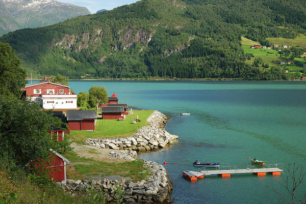 Motorboat Photograph - Summer View Of Southern Norway by Oks mit