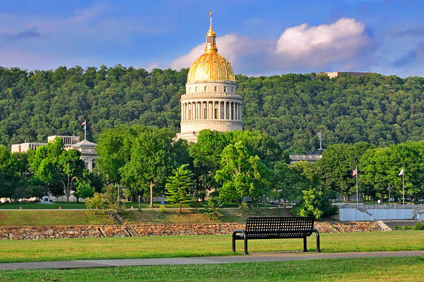 Photograph - Summer Walk At The Capitol by Mary Almond