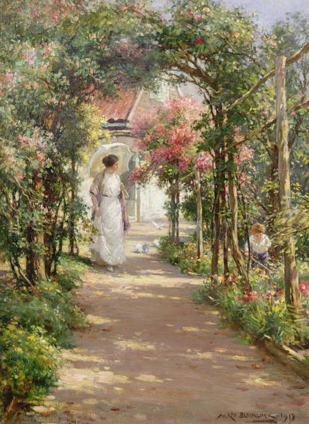 Arbor Painting - Summer by William Kay Blacklock