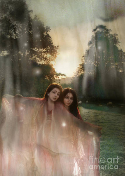 Wall Art - Photograph - Summer Witches by Angel Ciesniarska
