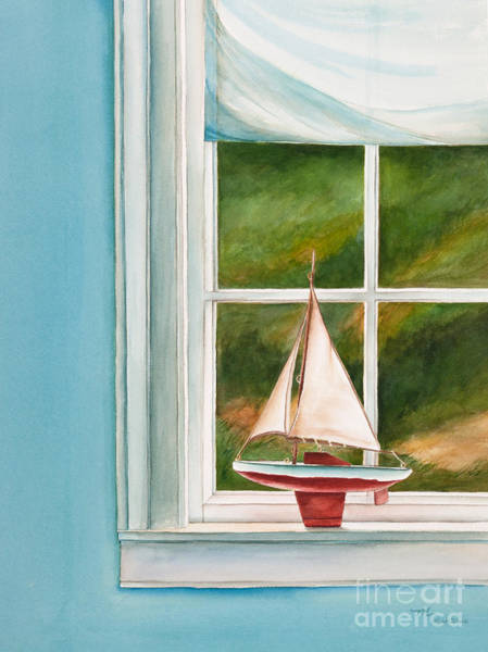 Painting - Summers At The Beach by Michelle Constantine