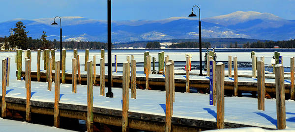 Ossipee Wall Art - Photograph - Summers Docked For Winter by Mim White