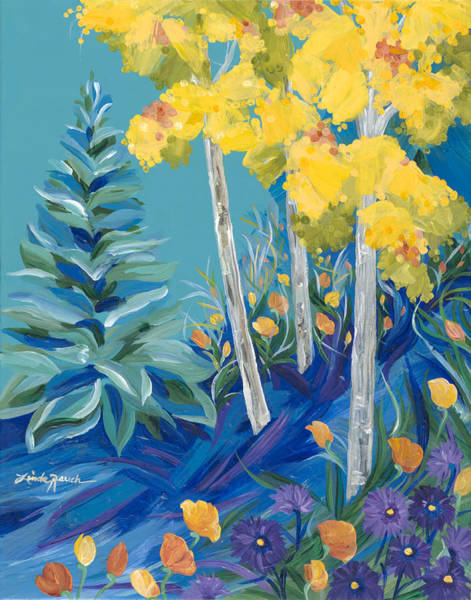 Painting - Summer's Leaving by Linda Rauch