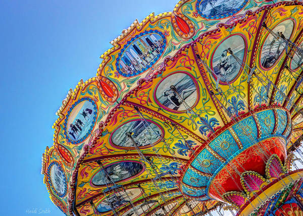 Fairground Photograph - Summertime Classic by Heidi Smith