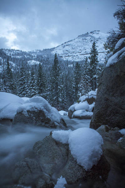 Donner Photograph - Summit Flow by Jeremy Jensen