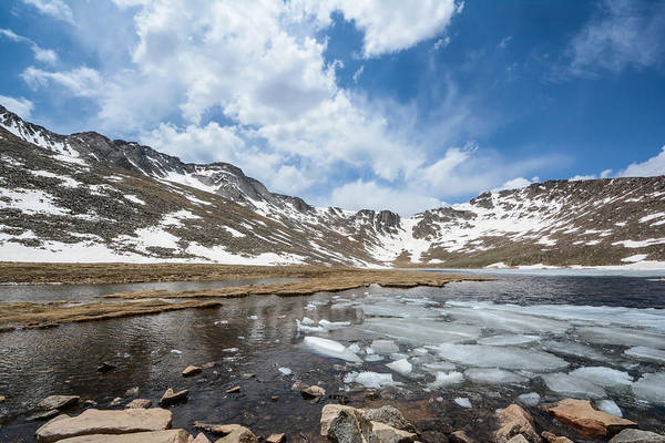 Photograph - Summit Lake In The Spring by Colleen Coccia