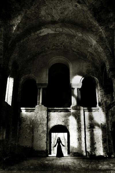 Old Church Photograph - Summoning by Cambion Art