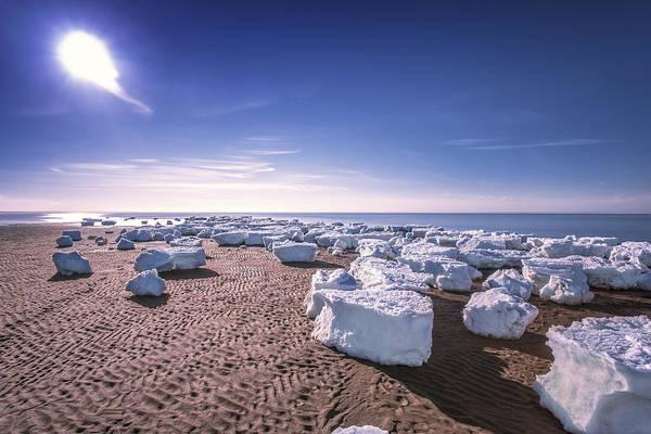 Wall Art - Photograph - Sun And Ice by Dapixara Art