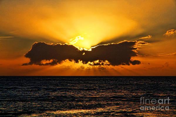 Photograph - Sun Bow At Sunset By Diana Sainz  by Diana Raquel Sainz