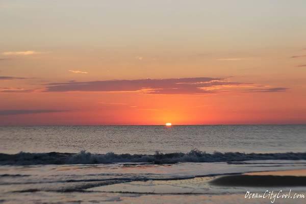 Photograph - Sun Breaks Horizon by Robert Banach