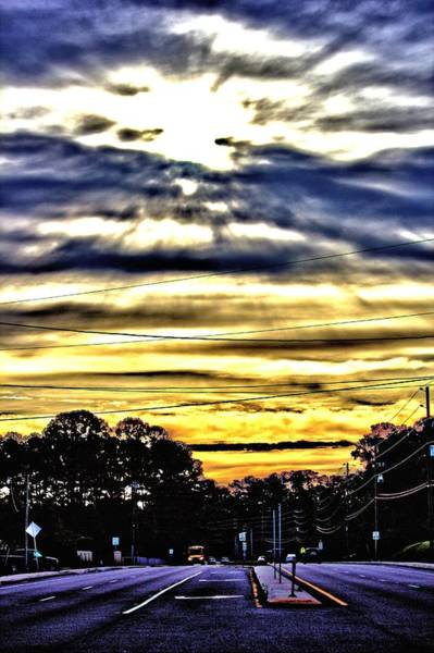 Photograph - Sun Burst by Tyson Kinnison