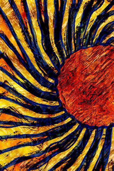 Wall Art - Digital Art - Sun Dance by David G Paul