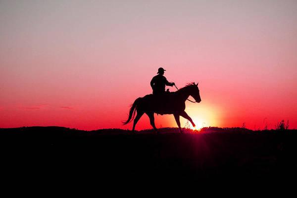 Sun Set Photograph - Sun Dancer by Steven Bateson