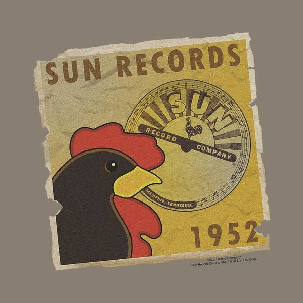 Wall Art - Digital Art - Sun - Distrsd Rooster Poster 1952 by Brand A
