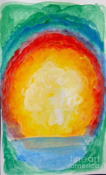 Painting - Sun Ensconced by Anne Cameron Cutri