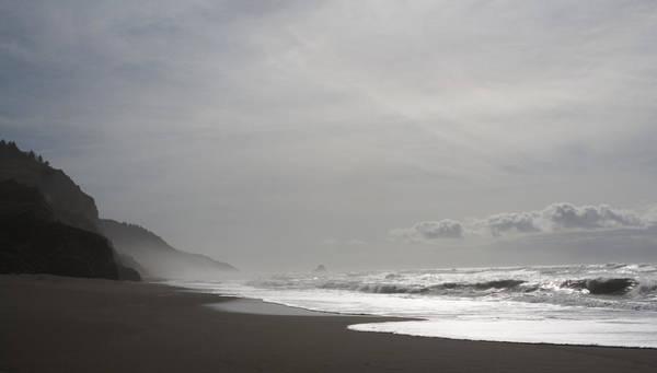 Photograph - Sun Flared Beach by Lorraine Devon Wilke