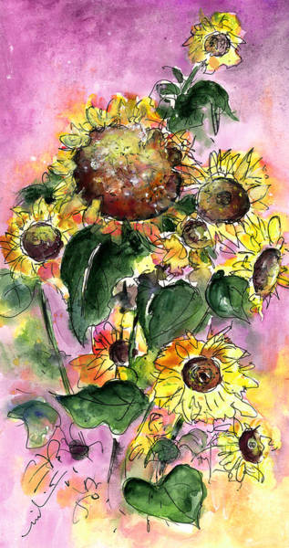 Painting - Sun Flowers From Avila by Miki De Goodaboom