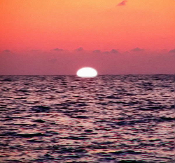Photograph - Sun Going Down by Bill Cannon