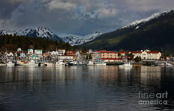 Wall Art - Photograph - Sun Going Down On Sitka by Scarlett Images Photography