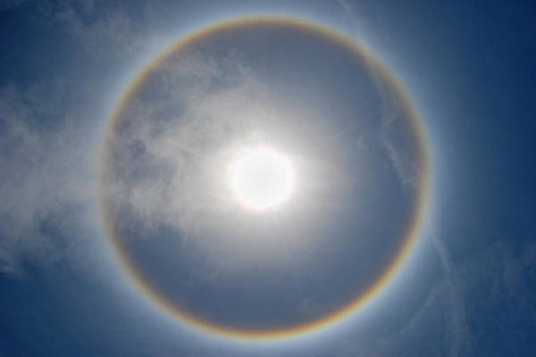 Photograph - Sun Halo by Larah McElroy
