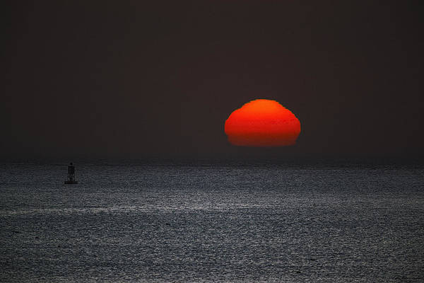 Photograph - Sun Just Lifting by Marty Saccone