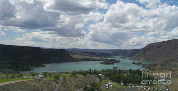 Photograph - Sun Lake In Lower Grand Coulee Washington by Charles Robinson