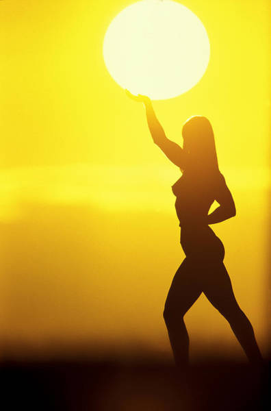 Lifting Photograph - Sun Lifter by Sean Davey