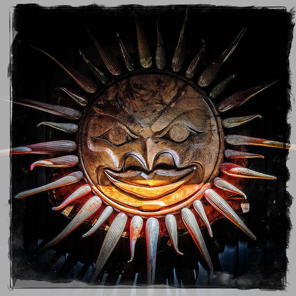 Photograph - Sun Mask by Roxy Hurtubise
