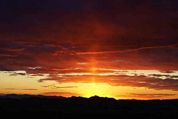 Photograph - Sun Pillar by Broderick Delaney
