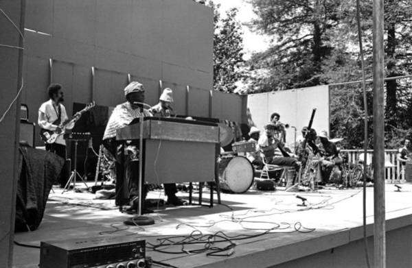Photograph - Sun Ra Arkestra Uc Davis Quad 1 by Lee Santa