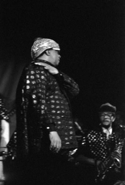 Photograph - Sun Ra Marches 1 by Lee Santa