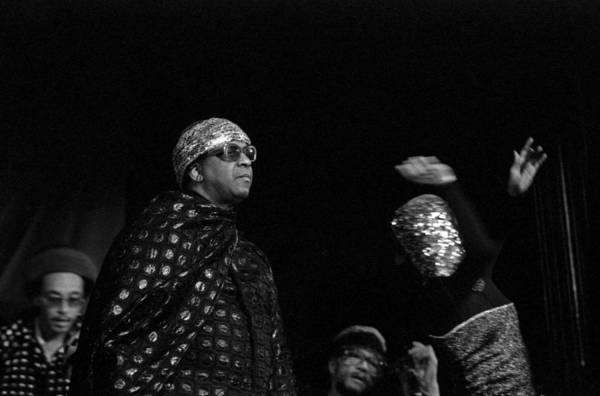 Photograph - Sun Ra Marches by Lee Santa