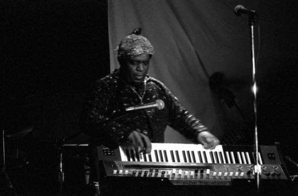 Photograph - Sun Ra Plays 3 by Lee Santa
