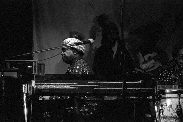 Photograph - Sun Ra Plays by Lee Santa