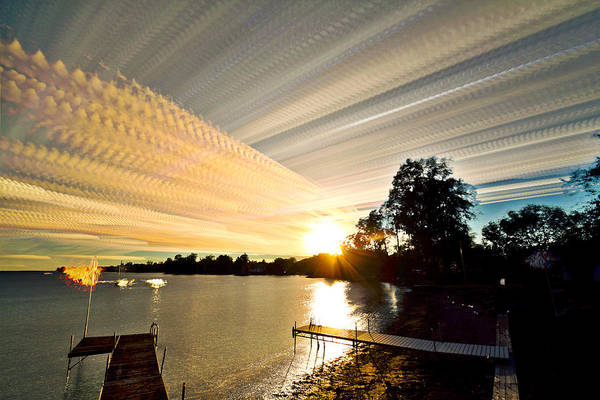 Wall Art - Photograph - Sun Rays And Wind Streams by Matt Molloy