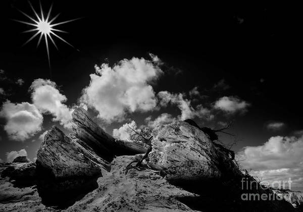 Photograph - Sun Rocks And Shadows by Julian Cook